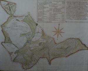 Inselkarte Waldkönigens von 1790